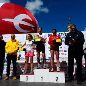 Podium Maratón Femenino