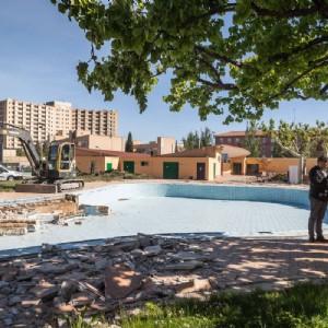 Comienza la reforma integral de las piscinas del CDM Gran Vía