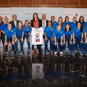 El Ayuntamiento muestra su apoyo al Sala Zaragoza en su segunda temporada en Primera División femenina
