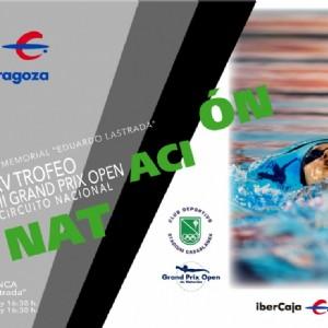 Más de 500 nadadores compiten este fin de semana en el XV Trofeo «Ibercaja-Ciudad de Zaragoza»