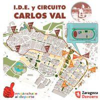 Nuevo circuito de «running» de 5k y 10k en IDE Carlos Val (Valdespartera)