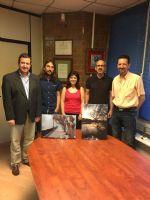 Entrega de los primeros premios del Concurso de Fotos «ZaragozAnda»