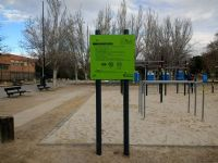 «Street Workout» del Parque Torre Ramona