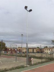 Mejoras en la red de instalaciones deportivas elementales (potreros). Octubre 2018.
