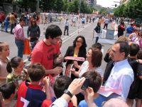 CALLE 4 Raúl Entrerríos con participantes