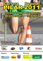Las inscripciones para la Carrera Popular Pilar 2011 estarán disponibles a partir del 19 de septiembre