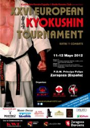 Invitaciones para el XXVI European Kyokushin Tournament