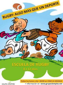 Escuela Rugby, Atletismo y «Proyecto TODOS» del Grupo Ciempiés