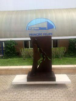 Escultura �Homenaje al Baloncesto�