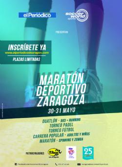 Gran Maratón deportivo SoccerWorld Zaragoza
