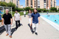 Los usos de las piscinas municipales de Zaragoza aumentan un 20% respecto al a�o pasado