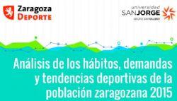 Presentación del Estudio «Análisis de los hábitos, demandas y tendencias deportivas de la población zaragozana 2015»