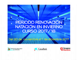 Plazo de renovación de las actividades deportivas municipales «Entra en Acción»