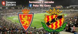 Sorteo de entradas para ver el Real Zaragoza - Nàstic Tarragona [1 abril 2019]