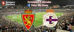 Sorteo de entradas para ver el Real Zaragoza - RC Deportivo [4 mayo 2019]