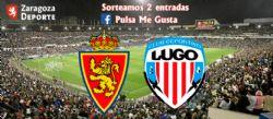 Sorteo de entradas para ver el Real Zaragoza - Lugo [21 septiembre 2019]