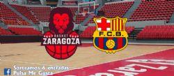 Sorteo de entradas para ver el Tecnyconta Zaragoza - Barça [27 octubre 2019]