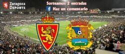Sorteo de entradas para ver el Real Zaragoza - CF Fuenlabrada [8 febrero 2020]