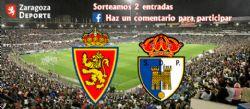 Sorteo de entradas para ver el Real Zaragoza - Ponferradina [21 octubre 2021]